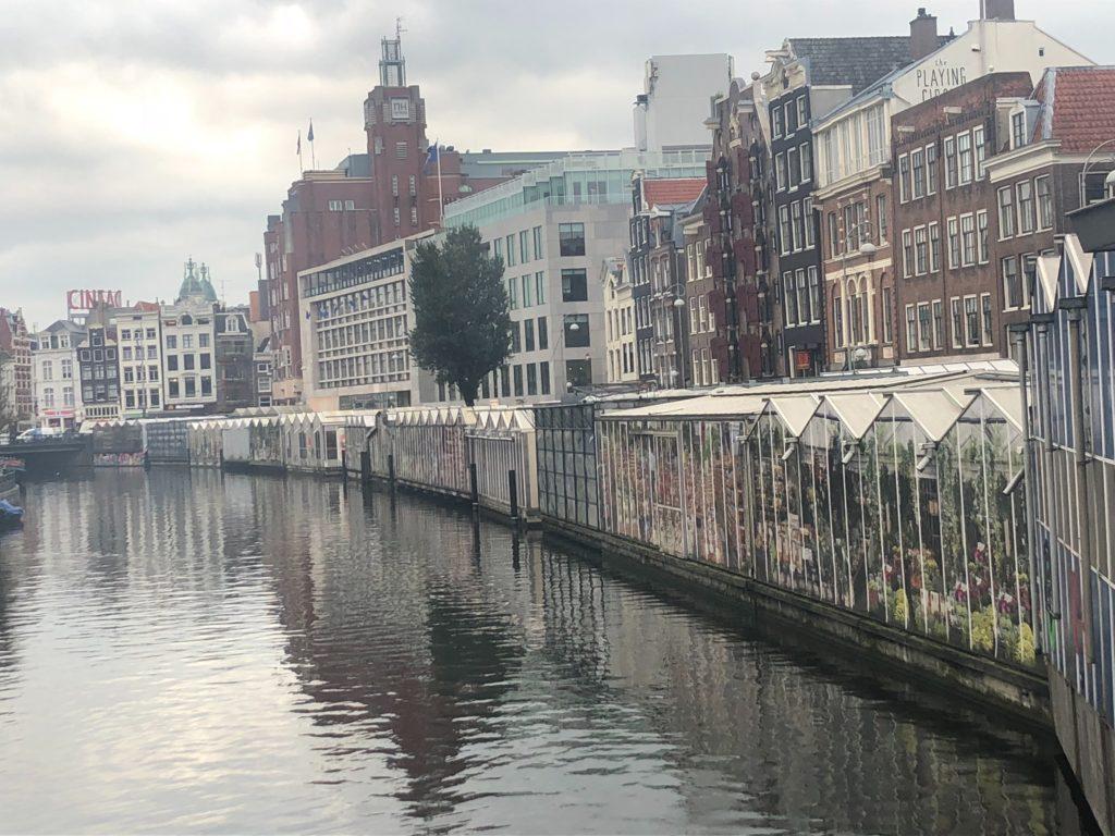 アムステルダムの街の様子