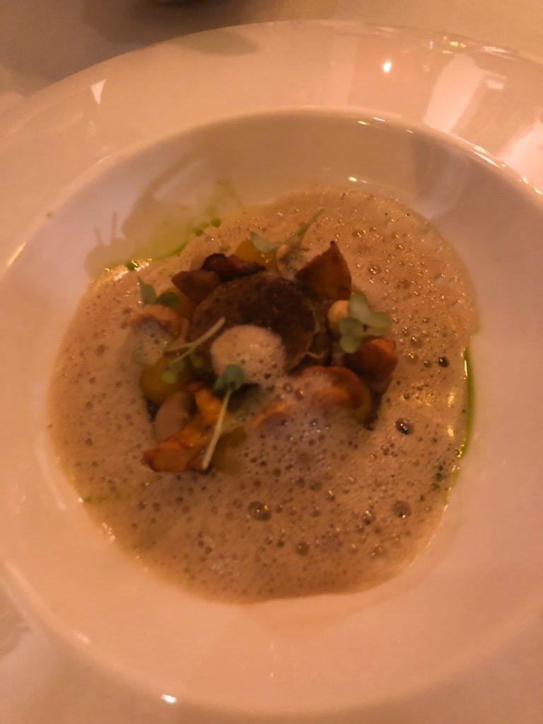アムステルダムのレストラン、De Silveren SpiegelのNorth Sea Crab