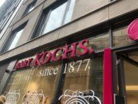 デュッセルドルフにあるベビー用品店、Baby kochsの外観