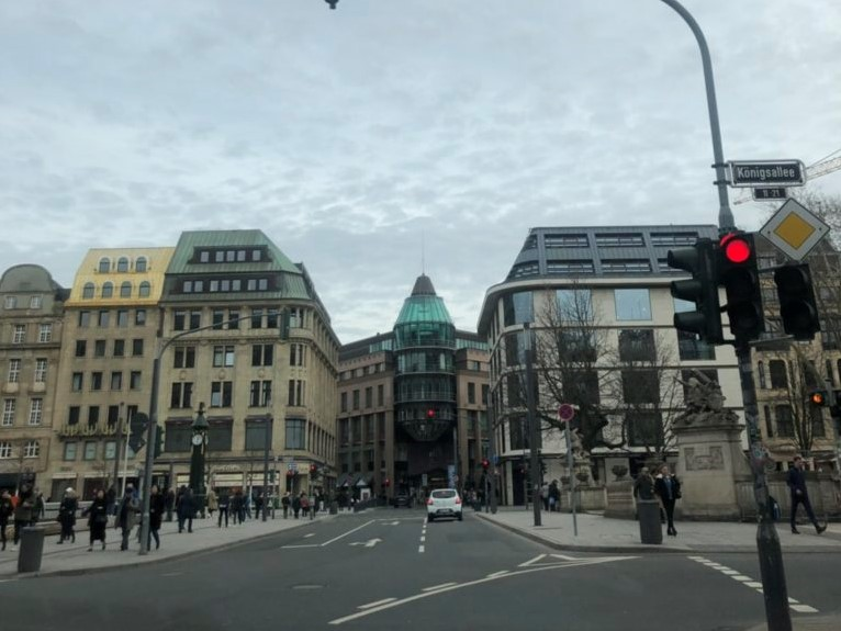 デュッセルドルフの街