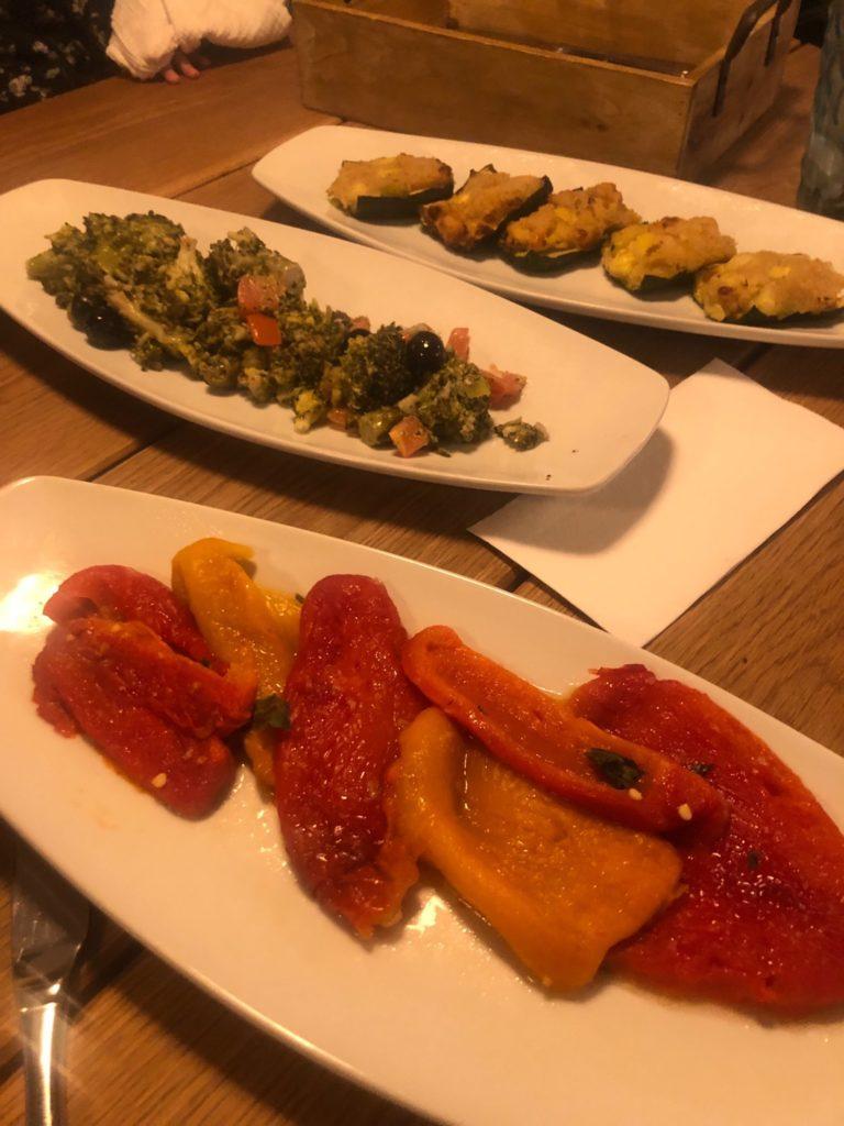 デュッセルドルフのイタリアレストラン、L'animaの前菜