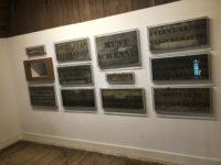 デン・ハーグの監獄博物館(Museum de Gevangenpoort)に展示されている恥の木版
