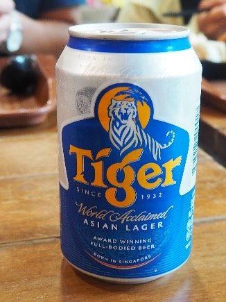 シンガポールのTigerビール